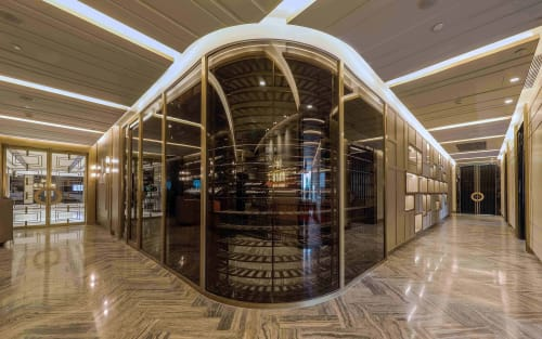 Interior Design by MAS STUDIO LTD. seen at Mandarin Oriental Wangfujing, Beijing, 东城区 - Howard's Gourmet
