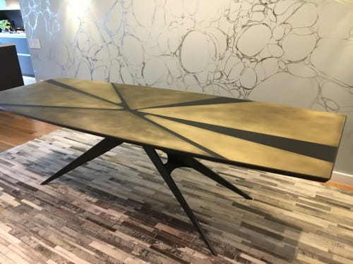 Tables by Pryor Callaway Art and Design seen at Brooklyn Gallery, Brooklyn - Butterfly Dining Table