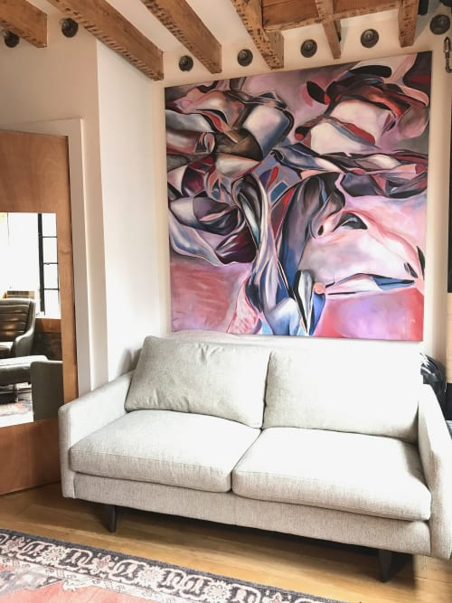 Paintings by Katherine Boxall at Private Residence, New York - Untitled (NYC)