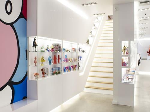 Interior Design by Harry Allen Design at Kidrobot, New York - Interior Design