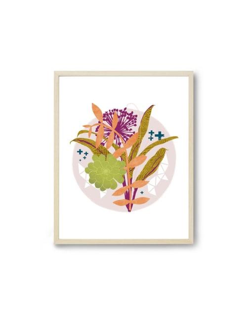Paintings by Birdsong Prints - Botanical Print, Succulent Art