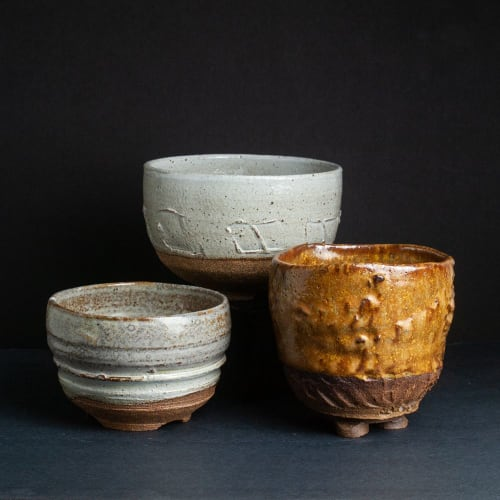 Vases & Vessels by johnnyclayworks seen at Private Residence, Media - Ceramic Planter Pottery