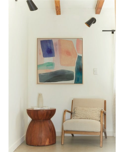 Paintings by maja dlugolecki seen at Creator's Studio, Los Angeles - 'what i dream of' - linen print