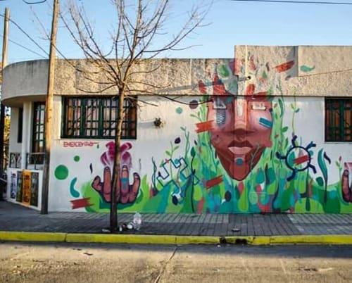 """Street Murals by Eneicekao seen at Alta Gracia Park, Alta Gracia - """"LA GRAN ARCA"""""""