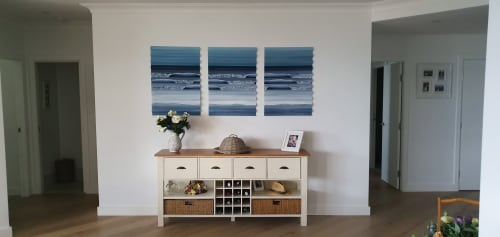 Paintings by Adam Stanley Art seen at Melbourne CBD, Melbourne - Life's a beach