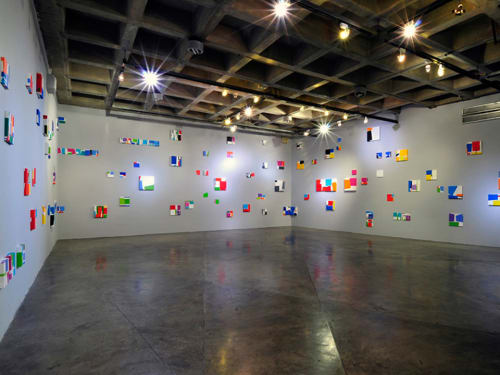 Paintings by Patricia Van Dalen seen at Caracas, Venezuela, Caracas - Color as Structure