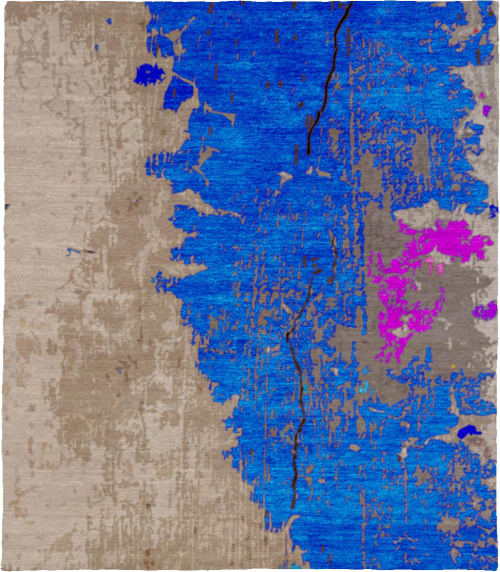 Rugs by ModernRugs.com - Tuberose B Luxury Hand Knotted Rug