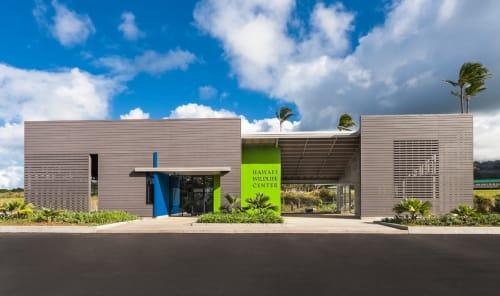 Interior Design by Ruhl Studio Architects at Hawaii Wildlife Center, Kapaau - Architectural Design
