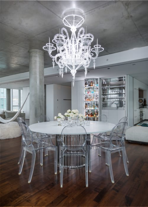 Chandeliers by Jason Krugman at Private Residence, New York - Monraker Chandelier