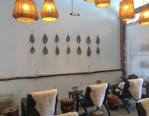 Wall Hangings by Luke Shalan seen at The Now Massage Boutique, Los Angeles - Cactus Paddle