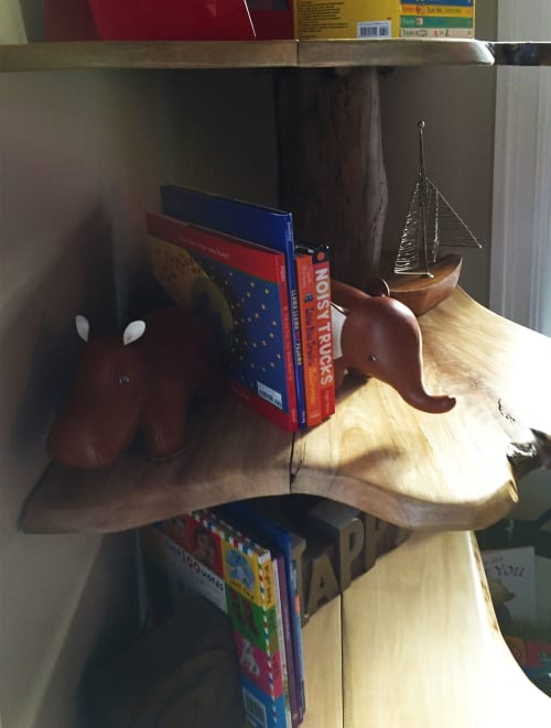 Furniture by Abodeacious seen at Private Residence, New York - Tree book shelf