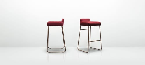 Chairs by Mark Gabbertas seen at Urban Systems, Calgary - Tommo Stools