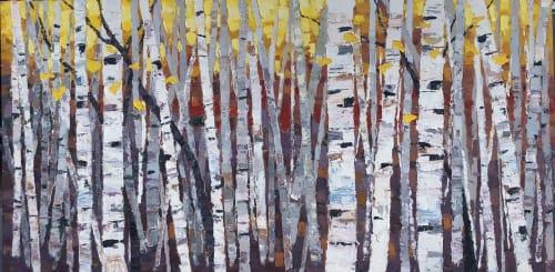 Glade   Paintings by Lelia Davis