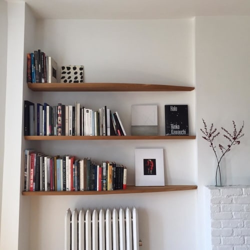 Furniture by Luke Malaney Furniture at Private Residence, Brooklyn - Floating Shelves