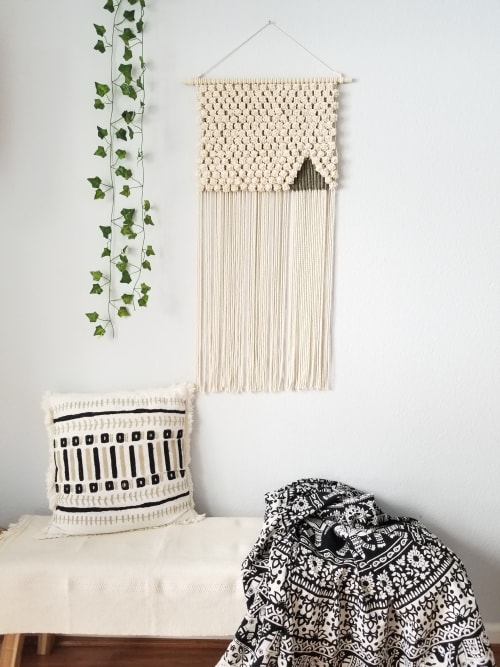 Macrame Wall Hanging by YASHI DESIGNS seen at Private Residence, Milpitas - Himalaya - Abode of Snow