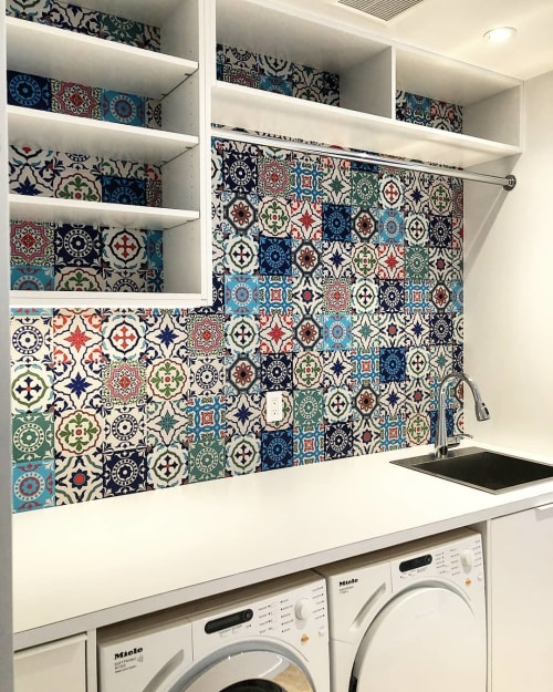 Tiles by The Good Tile seen at Private Residence, Toronto - Mix Match Tiles