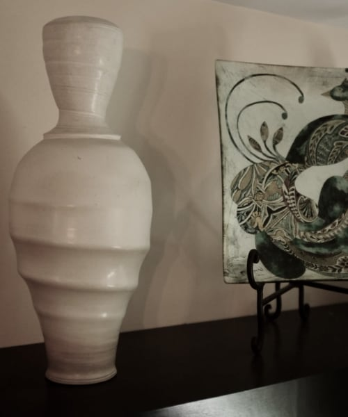 Vases & Vessels by John McCoy Pottery seen at Private Residence, Boca Raton - Vase