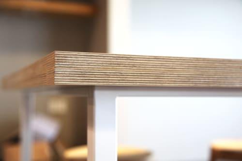 Tables by Matthew Deters seen at LUA + SOL, Culver City - Matthew Deter Fabrik Tables
