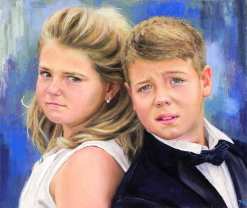 Paintings by Daggi Wallace seen at California - Portraits