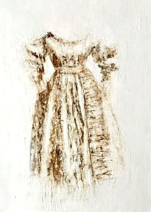 Paintings by Rosie Galloway-Smith seen at Private Residence - Victoria's Dress