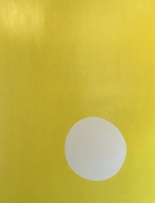 Bold Blue and Bright Yellow Pieces Are Paired Together   Paintings by Kerry Campbell