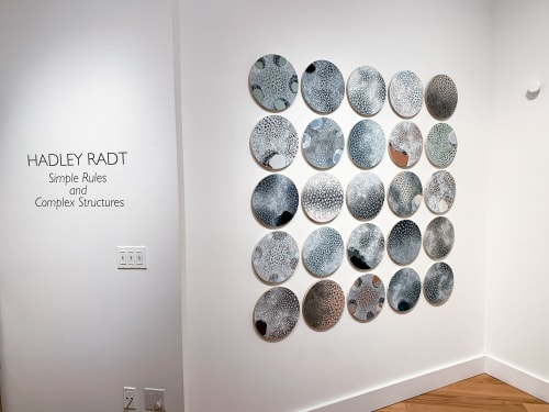 Paintings by Hadley Radt seen at K Imperial Fine Art, San Francisco - Simple Rules and Complex Structures Exhibition