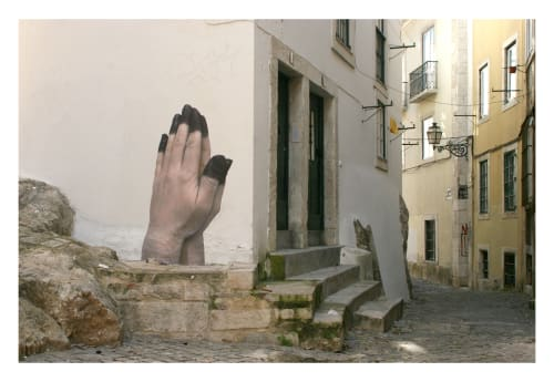 No Touching Ground - Murals and Street Murals