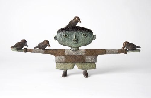 Sculptures by Dean Bowen seen at Melbourne, Melbourne - Small Pleasures