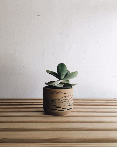 Vases & Vessels by Sam Lee seen at Private Residence, San Francisco - Small Handpainted Planter