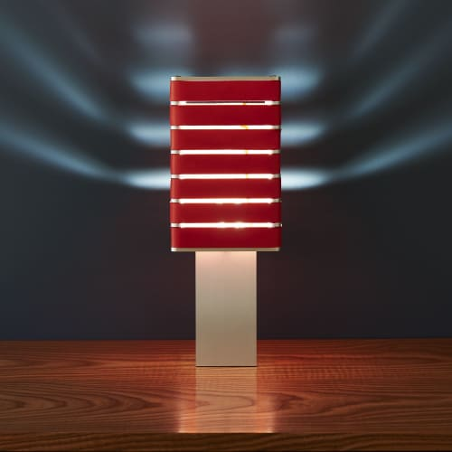 Exigen by Mnima. Table Light Sculpted from Solid Aluminum. | Lamps by mnima