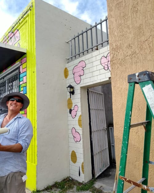 Murals by Vickie Pierre seen at Little Haiti, Miami - Mural
