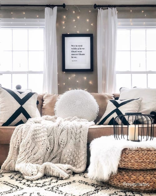 Pillows by Busa Designs LLC seen at Four Seasons Hotel, Washington, D.C., Washington - Black X Kilim Pillow Cover