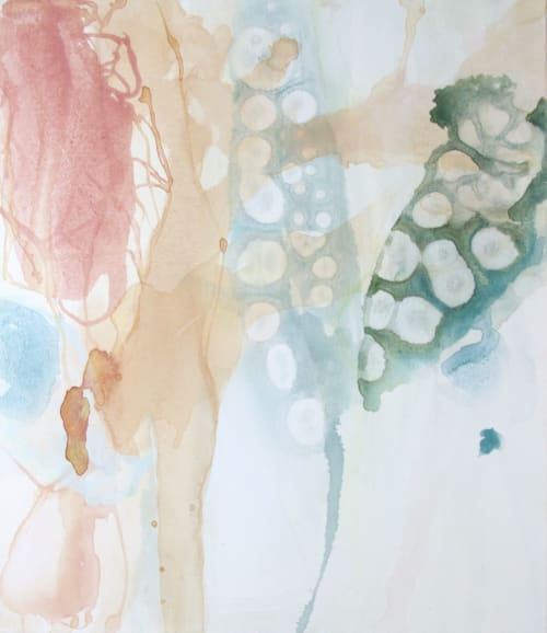 Paintings by Wendy Grace seen at Melbourne, Melbourne - quiet rhythms