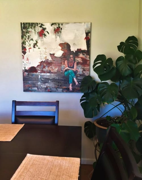 Paintings by Sara Lightning seen at Private Residence, Wheat Ridge - The Alley