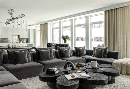 Interior Design by amy kalikow design seen at Private Residence, New York - TRIBECA LOFT RENOVATION
