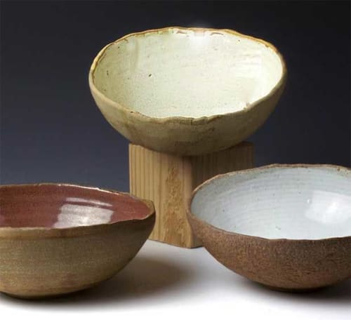 Tableware by BlackTree Studio Pottery & The Potter's Wife seen at Private Residence, Mill Creek - Shell Bowls