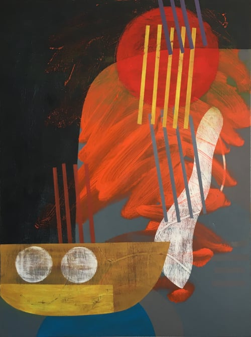 Dancing Water 2 | Paintings by Martin Webb
