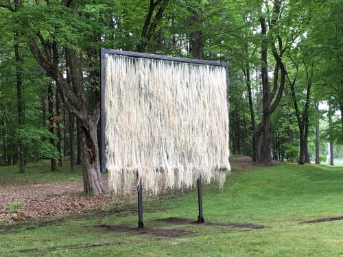 Public Sculptures by Nancy Winship Milliken Studio at Vermont, USA - Stall