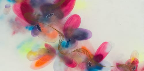 'GARDEN II'   Paintings by Christina Twomey Art + Design