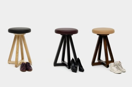 Furniture by ARTLESS seen at Private Residence, Big Bear - X2 Stool