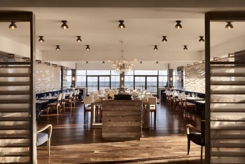 Interior Design by Michael Thomas & Co. at Scarpetta Beach, Montauk - Scarpetta Beach