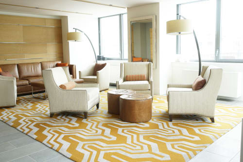 Rugs by Malene B Atelier at Avalon West Chelsea, New York - Custom Carpet 2