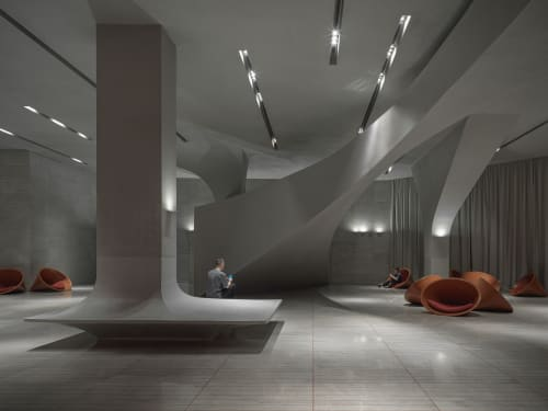 Interior Design by ONE PLUS PARTNERSHIP LIMITED seen at Changsha, China, Changsha - CHANGSHA INSUN INTERNATIONAL CINEMA