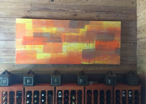 Paintings by Caroline Wright at Swoop, Austin - Ornament