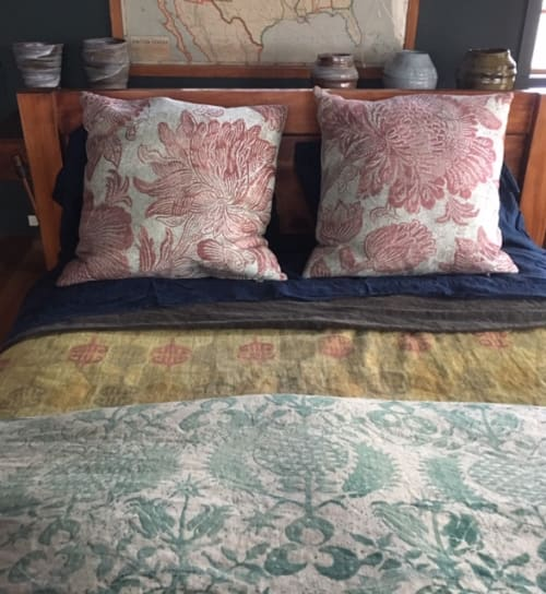 Linens & Bedding by TylerGraphic at Private Residence, New York City, New York - Peony Garden