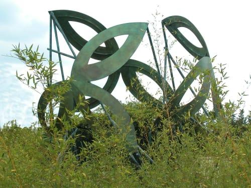 Public Sculptures by Jeffrey Maron seen at RWJ University Hospital Hamilton, Hamilton Township - Planetree Spirits