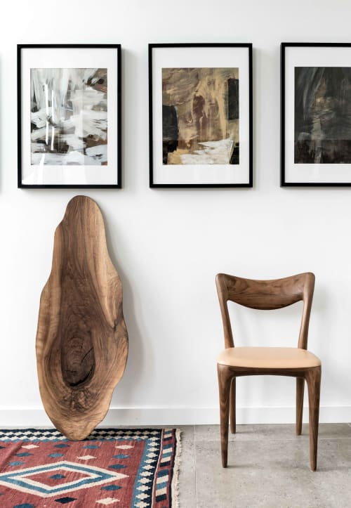 Chairs by Ask Emil Skovgaard seen at Private Residence in Copenhagen, Denmark, Copenhagen - Kora