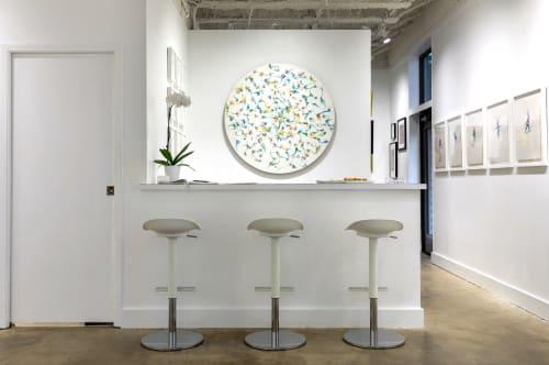 Paintings by Emma Balder seen at Houston, Houston - Fiber Painting