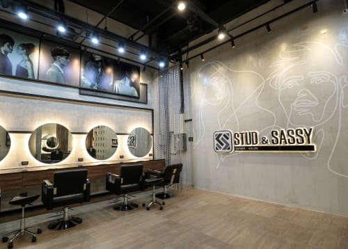 Wall Treatments by ISF CORP seen at Stud & Sassy, Pasig - Wall Treatments