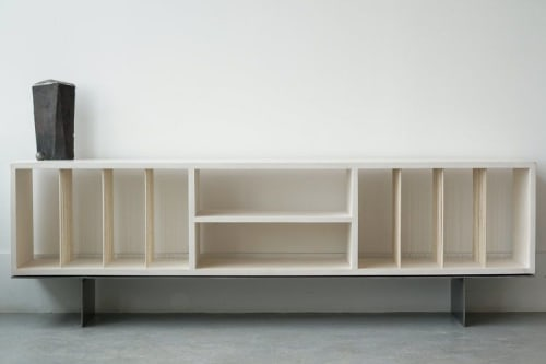Furniture by Ordinal Indicator seen at Private Residence, Montauk - Carter Credenza